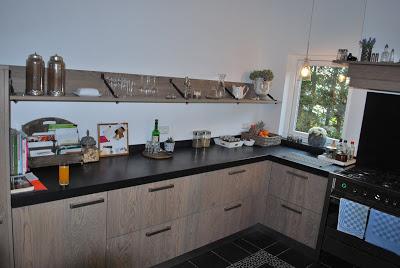 Keuken van Theo en Pam; een keuken waar je je thuisvoelt!