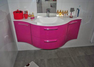 De badkamer van Leny