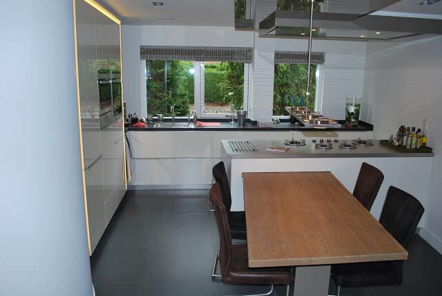 De aparte keuken van Rob en Nicky