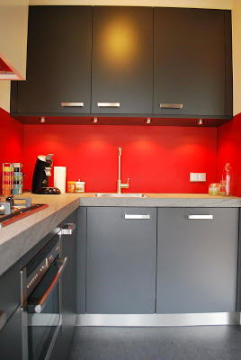 De nieuwe keuken van Johan