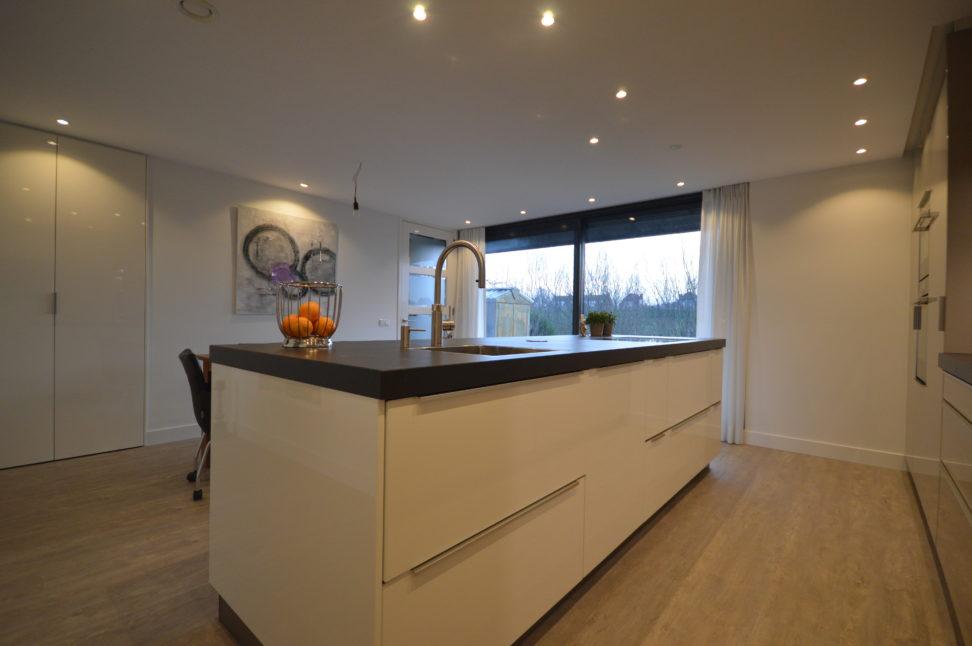 Keuken modern wit